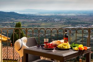 7 night trip to Cortona, Italy