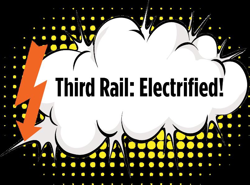 » Electrified: Third Rail Spring Fundraiser Hero